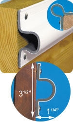 "Dock Edge Economy ""C"" Guard - BoatNDock.com"