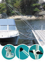Dock Edge Dock-Side™ Premium Mooring Whip 3600-F - boatndock