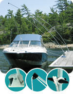 Dock Edge Dock-Side™ Ultimate Mooring Whip 3850-F - BoatNDock.com