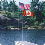 Dock Edge 18' Flexi-Flag™ - BoatNDock.com