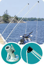 Dock Edge Howell™ Mooring Whip Base 3000-F - BoatNDock.com