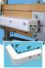 Dock Edge ProTect™ Corner 1059-F - BoatNDock.com