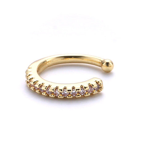 Pave Thin Ear Cuff