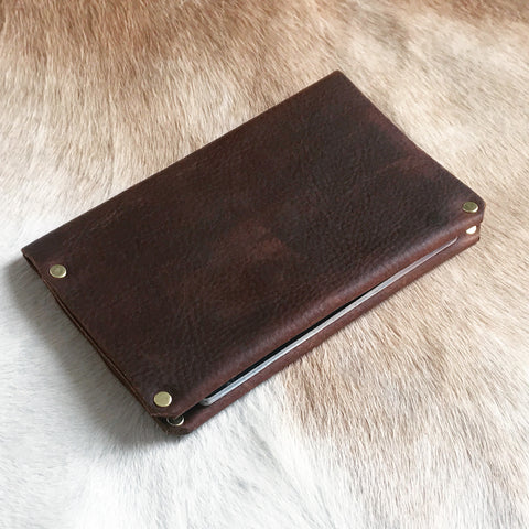 Make Your Own Leather Passport Case