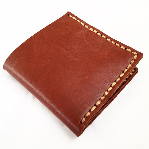 Cognac Leather Wallet