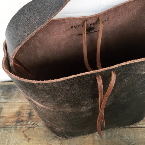 Distressed Market Bag