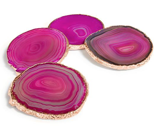 LUMINO COASTERS IN FUCHSIA