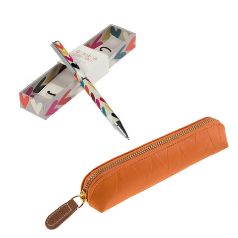 Ball Point Pen + Pencil Case | STATIONERY GIFT BOX