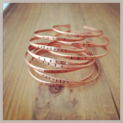 Copper Bangle Bracelet