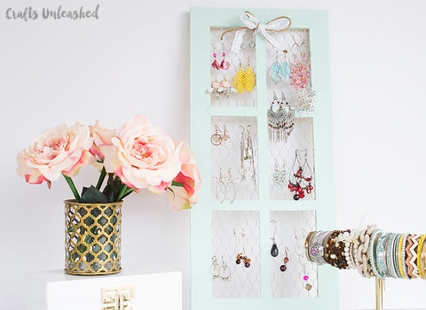 Consumer Crafts Jewelry Organizer
