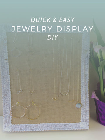Olive Yew DIY Jewelry Display