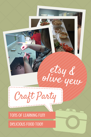 Etsy Craft Party 2014