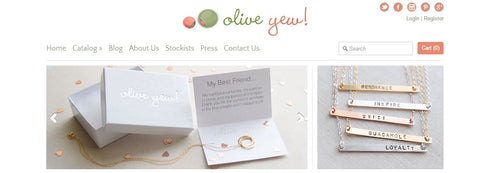 Olive Yew New Website