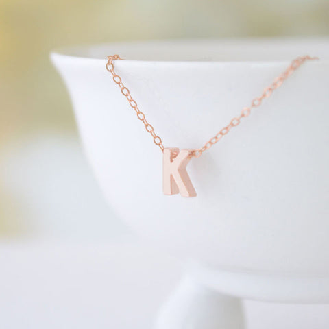 Capital Letter Necklace
