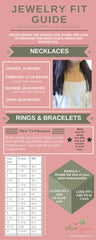 Jewelry Fit Guide: How to measure for necklaces, bracelets and rings