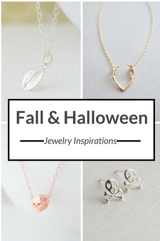 Fall & Halloween Jewelry Inspirations by Olive Yew