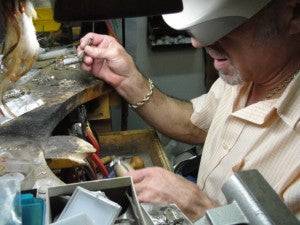 Joe at Lapidary Arts