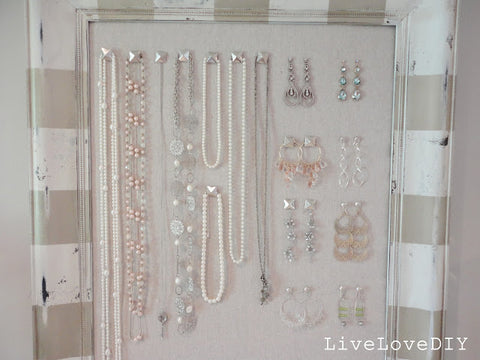 Live Love DIY Jewelry Organizer