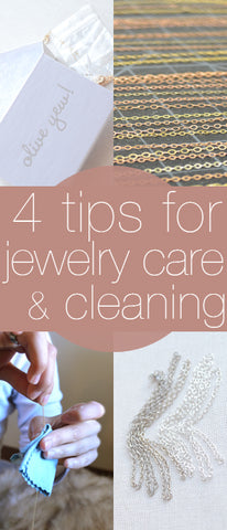 Jewelry Cleaning and Care Tips