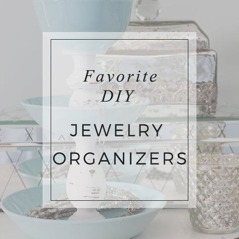 Favorite DIY Jewelry Organizers