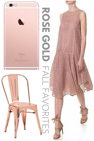 Rose Gold Fall Favorites by Olive Yew