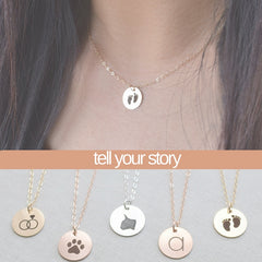 Create an Engraved Personal Story Necklace