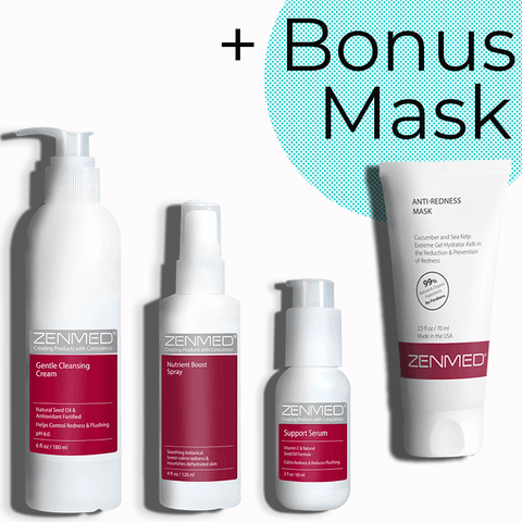 Skin Support System + Bonus Anti-Redness Mask!
