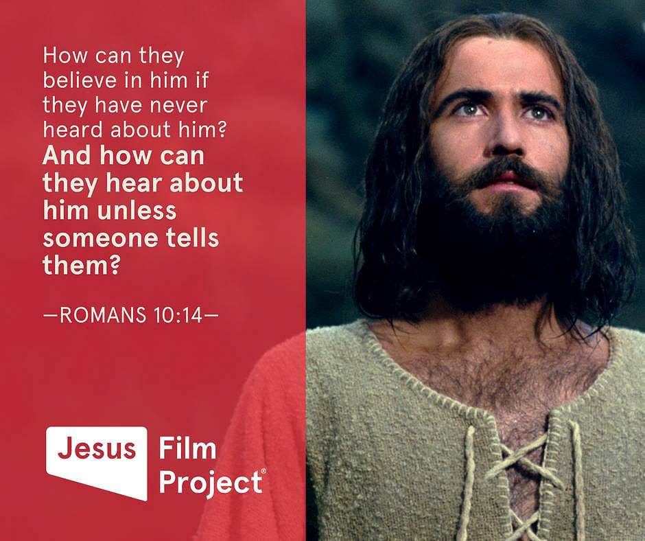 Give LOVE, be a part of the movement, Jesus Film Project, Lavish Three 3