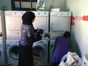 Lavish Your Soul Middle East laundromat project, women for Jesus, Jesus Film Project, Lavish Three 3