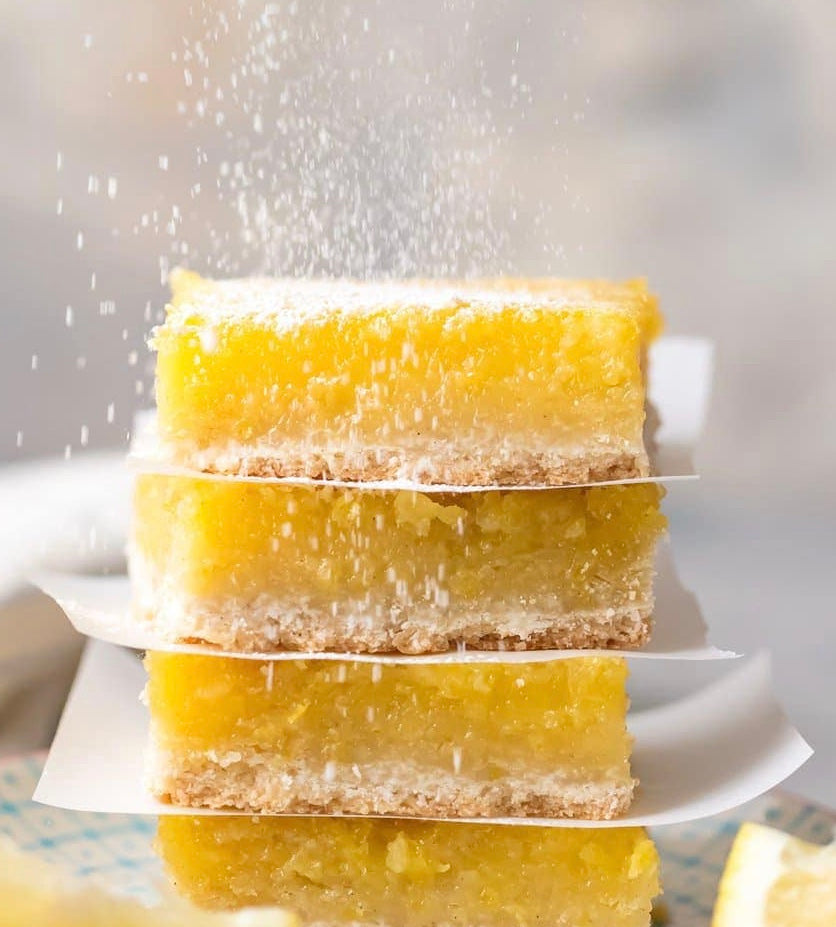Lavish lifestyle Pucker UP! lemon bar recipe, Lavish Three 3