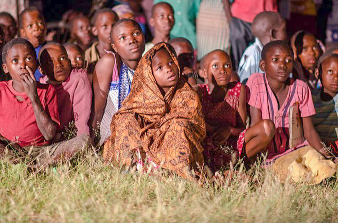 Jesus Film Project goes to Mozambique Africa, Lavish Three 3
