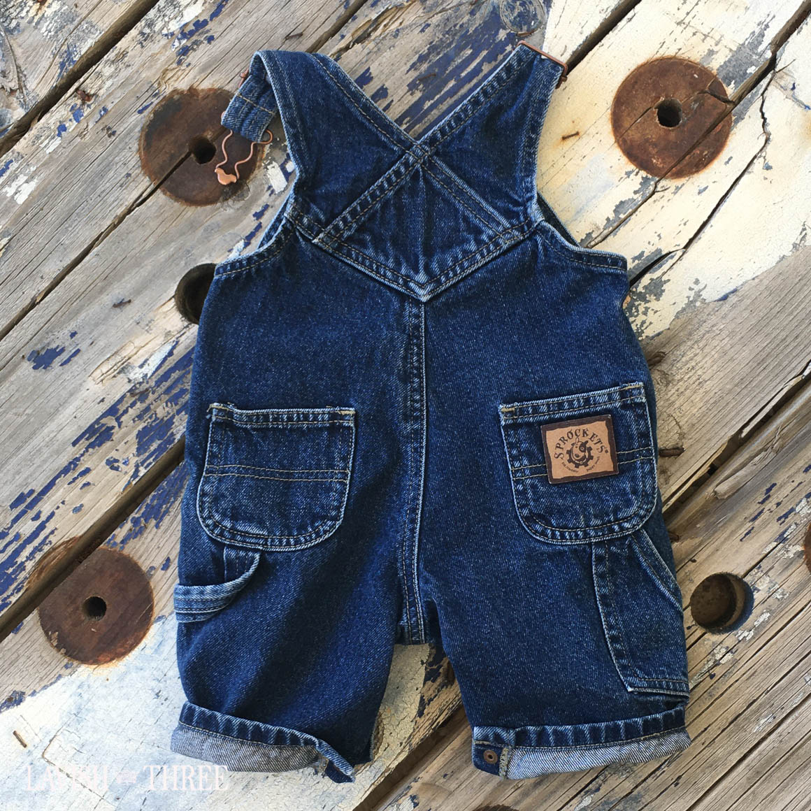 Denim overalls american star kids baby lavish three 3