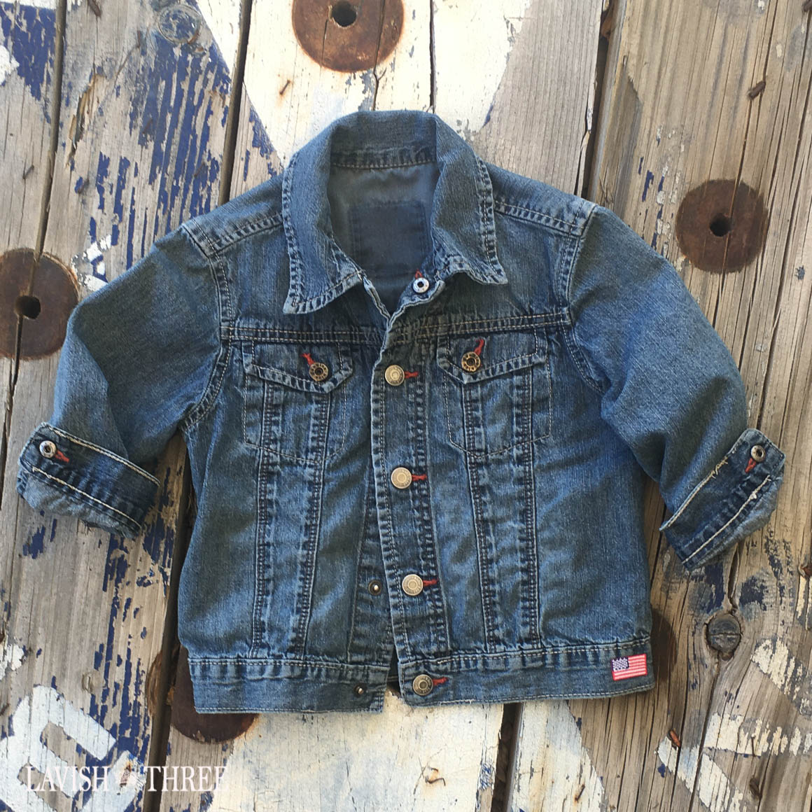 Denim USA Jacket boys girls lavish three 3
