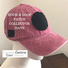 Custom Hook and Loop Patch Collectors Hat