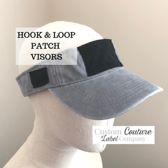Custom Hook and Loop Patch Collectors Visor