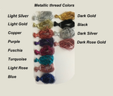 metallic thread color choices