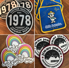 Woven Patches - Iron On - Custom Couture Label Company