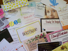 Business cards - Custom Couture Label Company