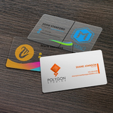 Plastic Business Cards & Hangtags