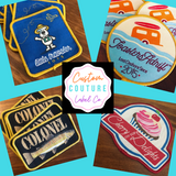 Custom Couture Label Co woven patches