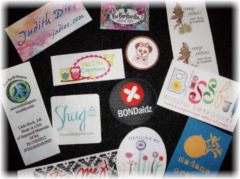 Digitally Printed Labels - Sew On - Custom Couture Label Company