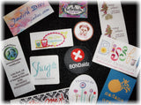 Digitally Printed Labels - Self Adhesive - Custom Couture Label Company
