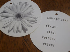 Round Hangtags - Custom Couture Label Company