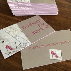 Sandwich Business Cards & Hangtags
