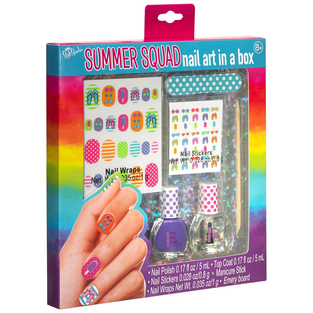 Summer Squad Nail Art in a Box