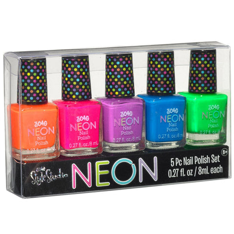 Neon Brights Polish Set