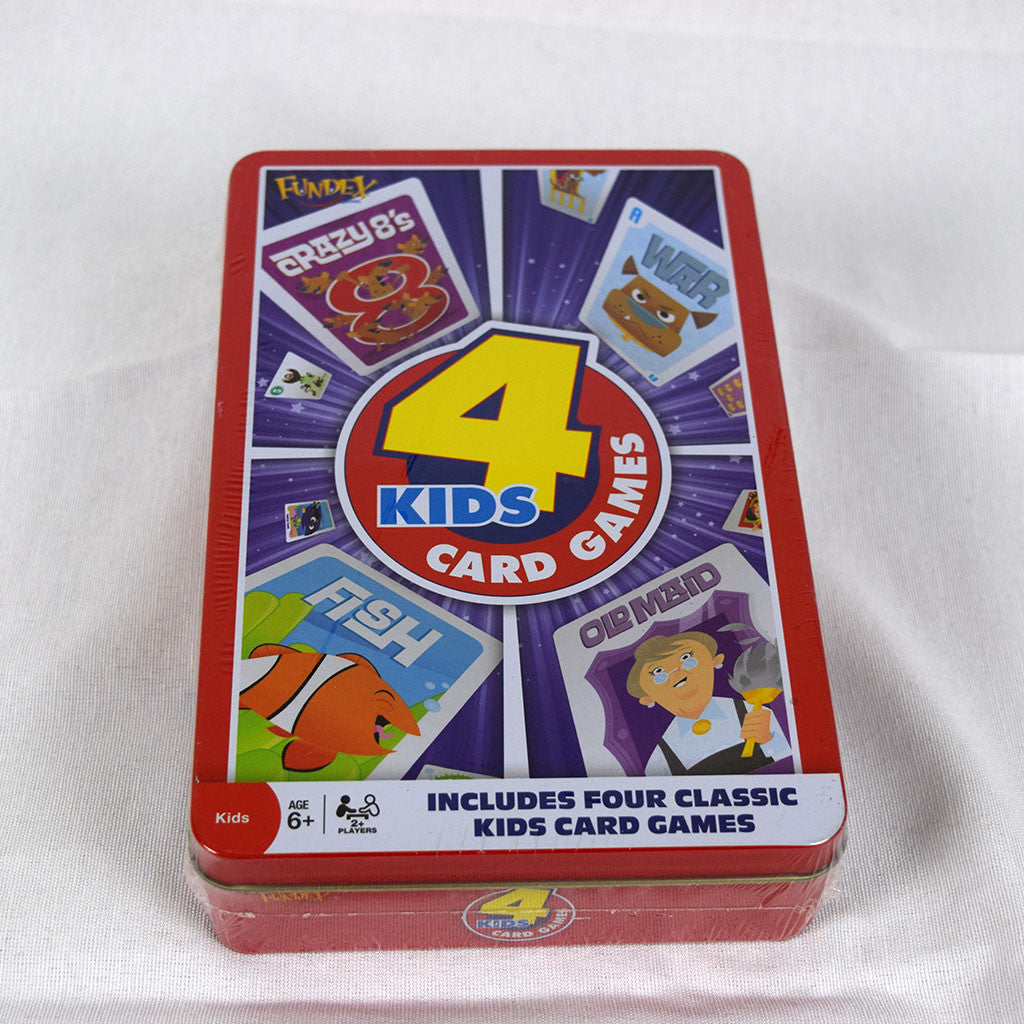 Fundex 4 Kids Card Games