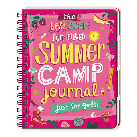 Summer Camp Journal for Girls