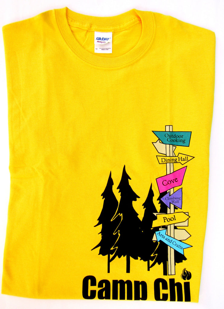 Camp Chi Graphic T-shirt