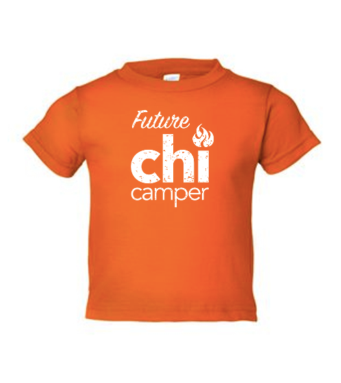 Future Chi Camper Toddler T Shirt- Orange